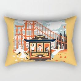 Enjoy San Fransokyo Rectangular Pillow