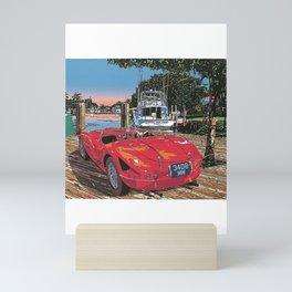 My dream car and holiday Mini Art Print