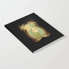 Art Nouveau Flowers Notebook