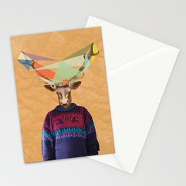Elk Person 2 Stationery Cards