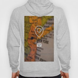 NYC you are here Hoody