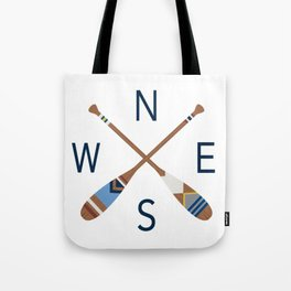Oar Compass Tote Bag