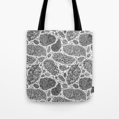 Nugs in Black and White Tote Bag