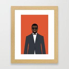 Yeezy's / K. West Framed Art Print