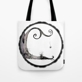 'Think I'll just stay in today' - Familiar and Friend Tote Bag