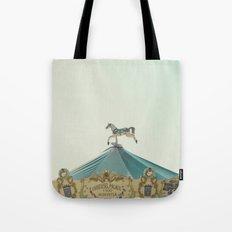 Carrousel Horse Tote Bag