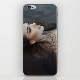 Girl in the water iPhone Skin