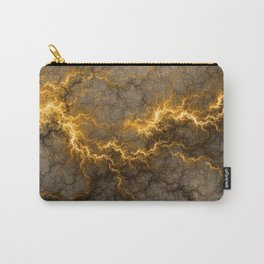 Wild Electricity - Gold Carry-All Pouch