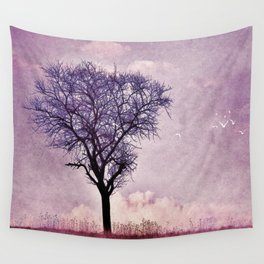 My purple dream Wall Tapestry
