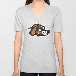 Scrappy Beagles Logo Unisex V-Neck