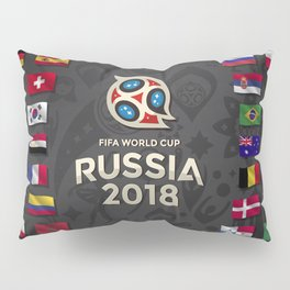 Russia 2018 Pillow Sham