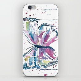 Vibrant Butterfly iPhone Skin