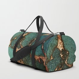 EMERALD AND GOLD Duffle Bag