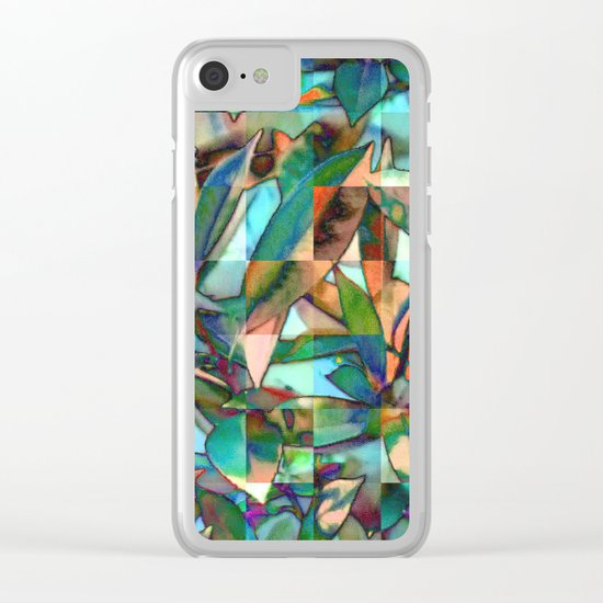 Into the Jungle 01 Clear iPhone Case