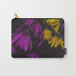 Withered Daisies Carry-All Pouch