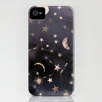 iPhone 4 Case featuring Constellations by Nikkistrange