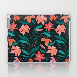 Flame Flowers Laptop & iPad Skin