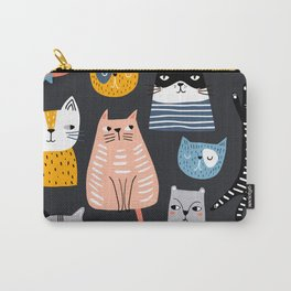 Wild Cats Pattern Carry-All Pouch