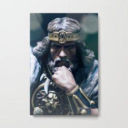 """The Barbarian"" Metal Print"