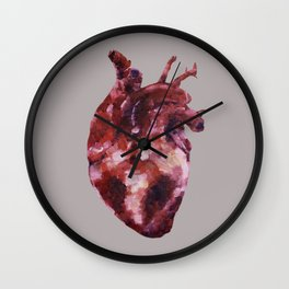 Heart to Heart Wall Clock
