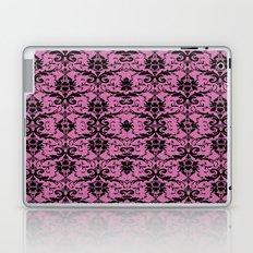 Black Damask and Pink Glitters Laptop & iPad Skin