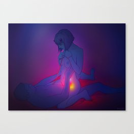 Erotic 1 Canvas Print