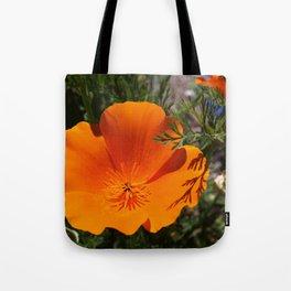 Brilliant California Poppy Tote Bag