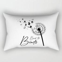 Break the Binds Rectangular Pillow