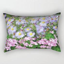 mellow meadow Rectangular Pillow