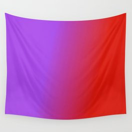 Ombre in Purple Red Wall Tapestry