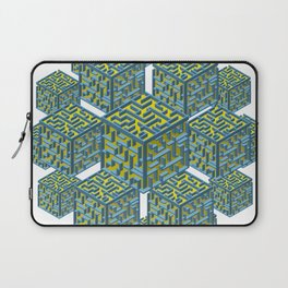 Cubed Mazes Laptop Sleeve