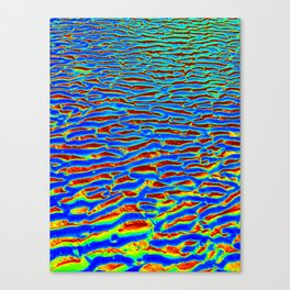 Psychadelic Sand Canvas Print