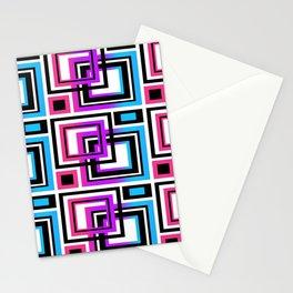 Rainbow Geometric Stationery Cards