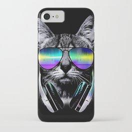 Dj Cat iPhone Case