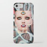 shiva iPhone & iPod Cases featuring shiva by Juliya Lezhen