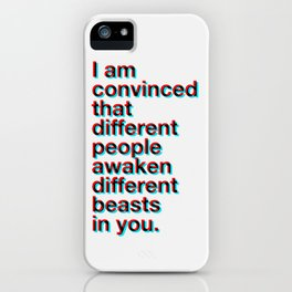 I Am Convinced iPhone Case