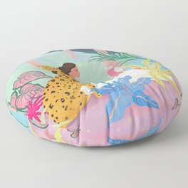 Better Together at Night  Floor Pillow