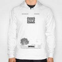 500 days of summer Hoodies featuring (500) Days of Summer by Martin Lucas