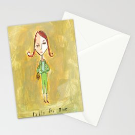 Table for One Stationery Cards