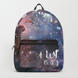 Victor Hugo Writer Quote Backpack