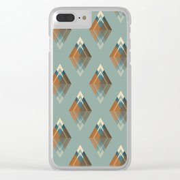 Les 7 sommets Clear iPhone Case
