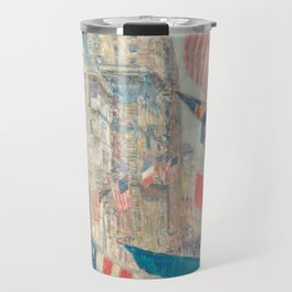 Allies Day, May 1917 by Childe Hassam Travel Mug