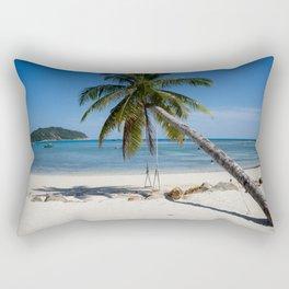 swing into paradise Rectangular Pillow