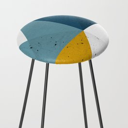 Modern Geometric 19 Counter Stool