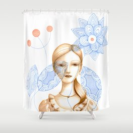 The Promise #2 Shower Curtain
