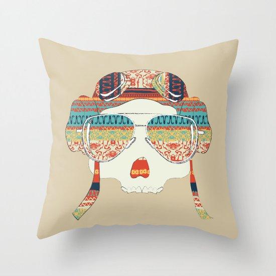 Retro Aviator Throw Pillow