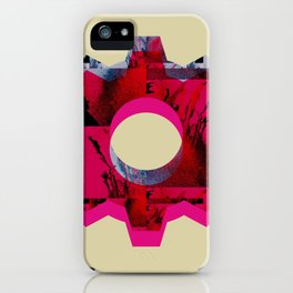 IMPROBABLE GREASE REEL iPhone Case