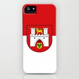 flag of Hanover or Hannover iPhone Case