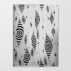 Mystic Yam Eyes Canvas Print