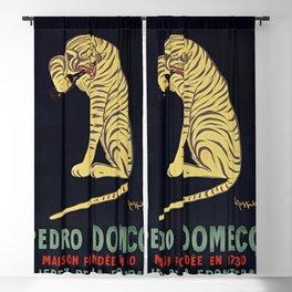 Vins fins de XERES Pedro Domeco - 1730 Tiger Bottle Blackout Curtain